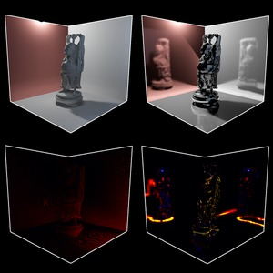 Interactive Relighting of Arbitrary Rough Surfaces
